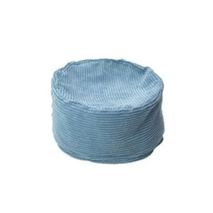 House of Paws HOUSE OF CATS PAWS BASKET BEAN BAG POOF TWIST CORD BLUE 44,5X44,5X20,5 CM
