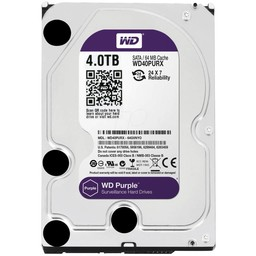 "WD Western Digital WD40PURX 4TB 3.5"" Internal Hard Drive - SATA - 64 MB Buffer"
