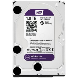 "WD Western Digital WD10PURX 1TB 3.5"" Internal Hard Drive - SATA - 64 MB Buffer"