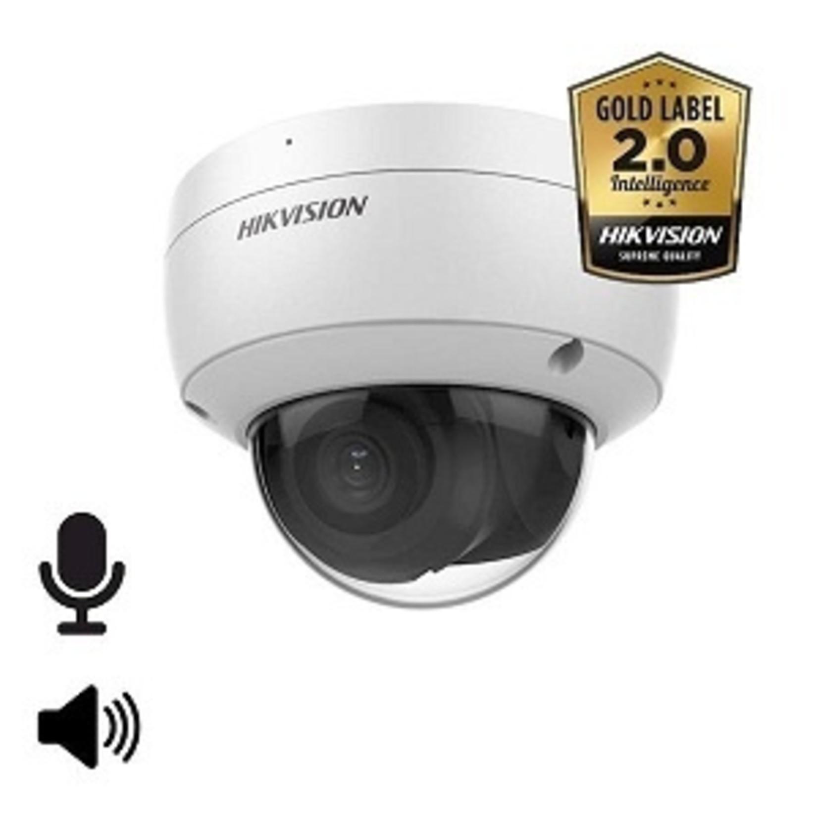 Hikvision DS-2CD2146G2-ISU, 4MP,  microfoon en speaker, 30m IR, WDR, Ultra Low Light