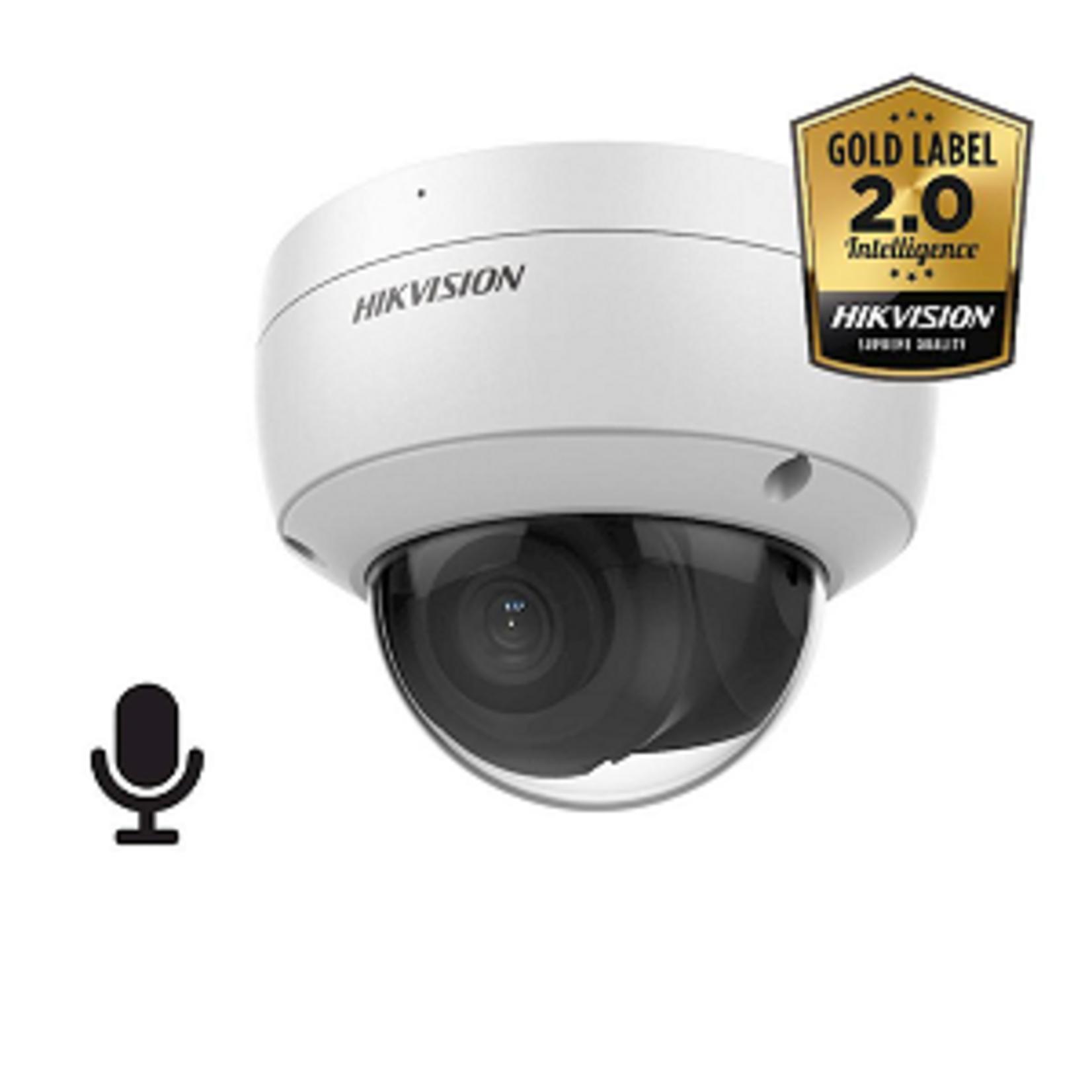 Hikvision DS-2CD2186G2-ISU, 8MP, 30m IR, WDR, Ultra Low Light, audio/alarm