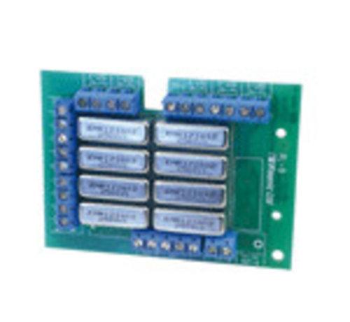Visonic 8-voudige relaiskaart voor OC uitgangen voor aansturen apparatuur