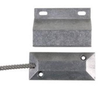OBS Aluminium roldeur contact voor vloermontage met weerstanden