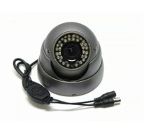 OBS Beveiligingscamera IR Dome Sony 700TVL 2.8-12mm grijs