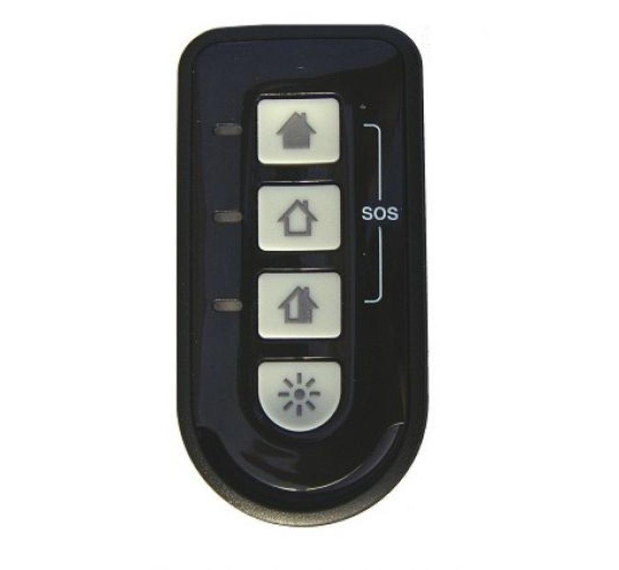 Draadloze afstandbediening TCB800M voor Galaxy alarmsystemen
