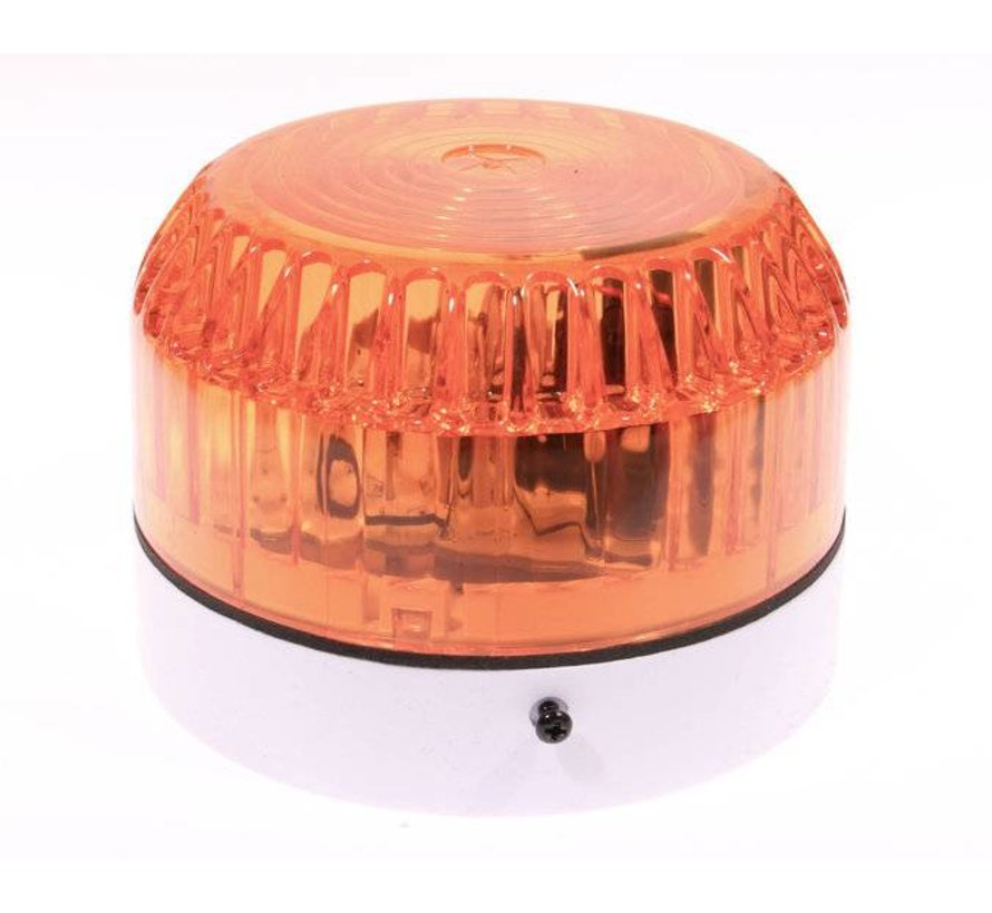 Flitser 4482 Flitser oranje voor aansluiten op alarmsystemen.