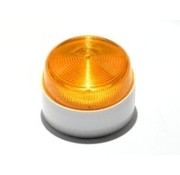 Elmdene Flitser Elmdene, flitser,1 W., IP65, extra laag model oranje