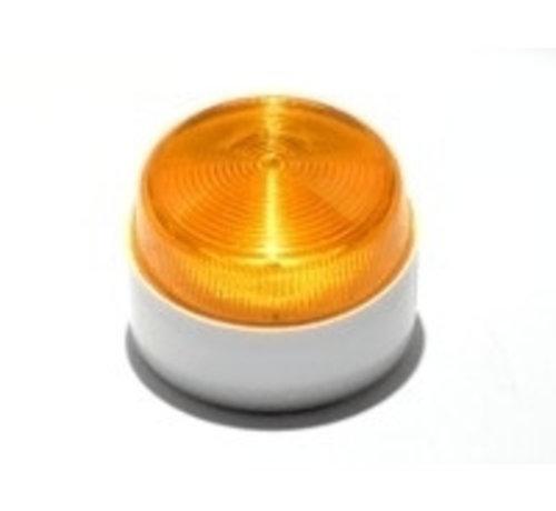 Elmdene Flitser Elmdene, flitser,1 W., IP65, extra laag model kleur oranje