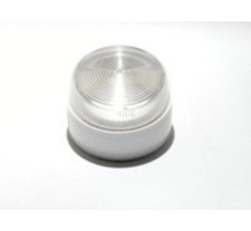 Elmdene Flitser Elmdene, flitser,1 W., IP65, extra laag model wit