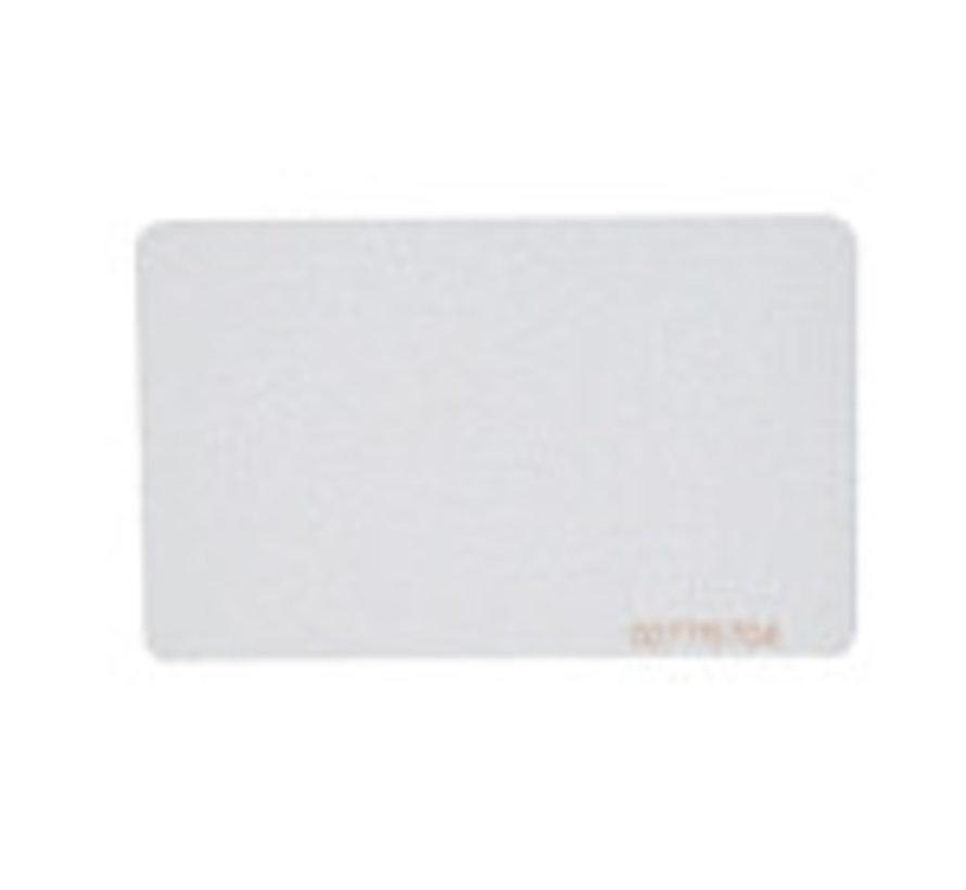 MAX 3 ISO Prox kaart Wit