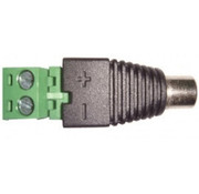 OBS Voeding schroef connector female