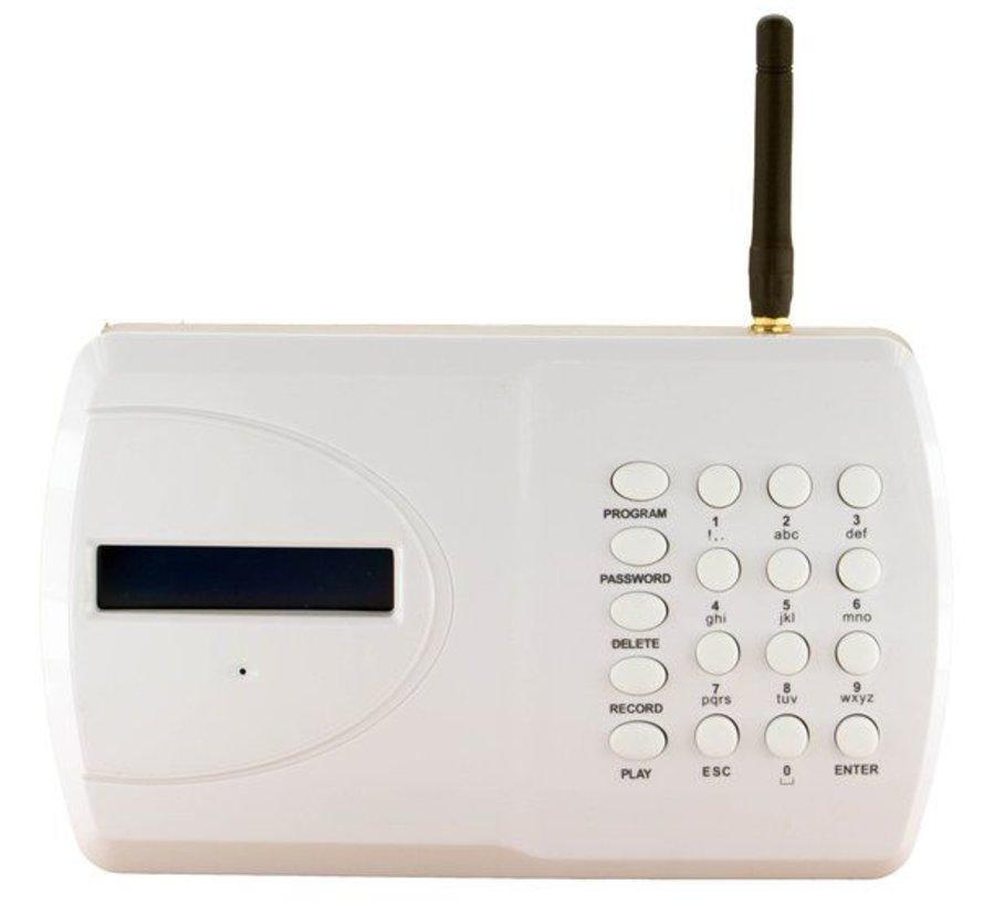 GSM kiezer 6 ingangen 4 uitgangen sms en spraaktekst