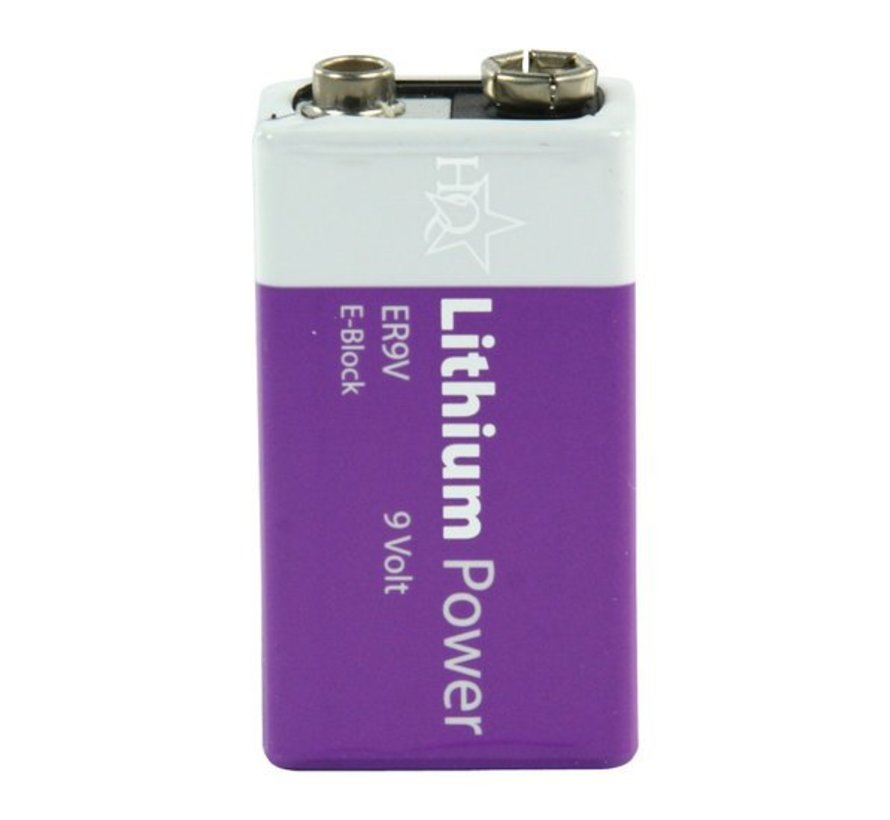 Batterij 9Volt Lithium