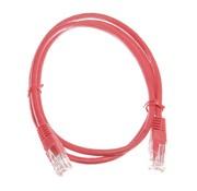 OBS Datakabel RJ45 netwerkkabel CAT5e 1m rood