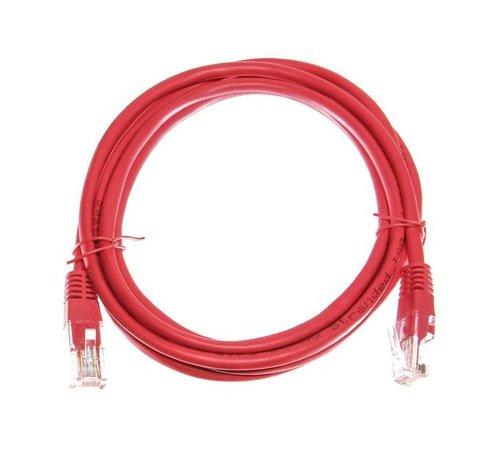 OBS Datakabel RJ45 netwerkkabel CAT5e 2,00 m rood