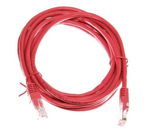 OBS Datakabel RJ45 netwerkkabel CAT5e 3,00 m rood