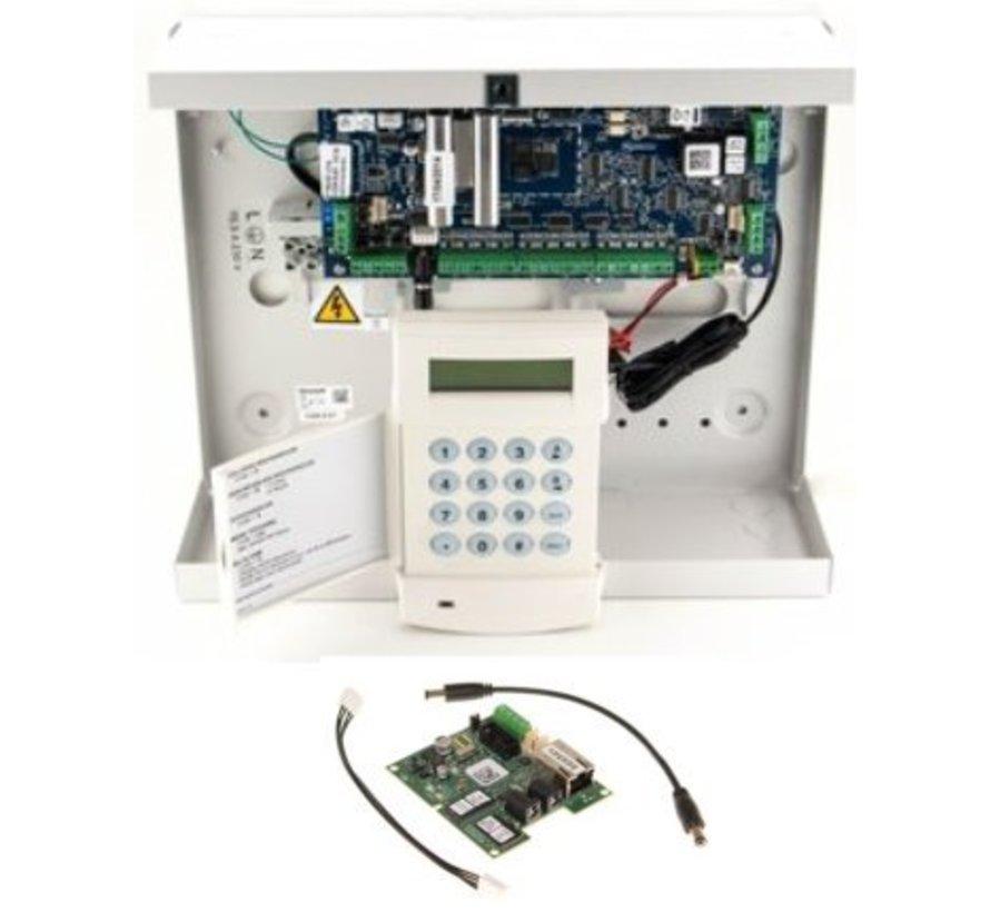 Alarmsysteem Galaxy Flex3-20 SK met MK7 bedienpaneel en IP module