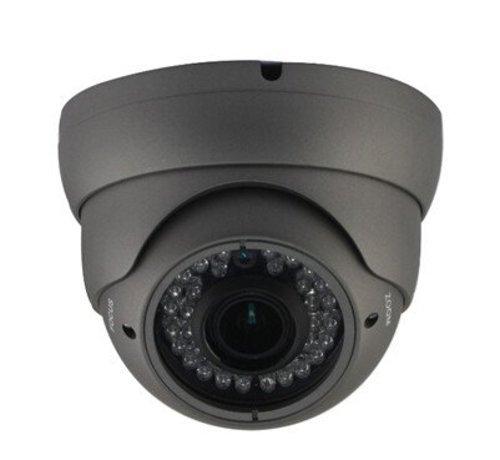OBS Beveiligingscamera Dome Turbo TVI Full HD met Sony 2.4MP CMOS 1080P met variabele lens 2.8-12mm kleur grijs