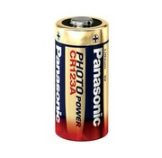 Panasonic Panasonic CR123A lithium 3Volt batterij