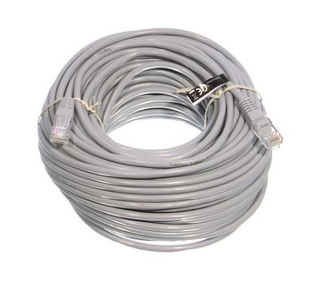 OBS UTP kabel 30 meter cat 5E kleur grijs