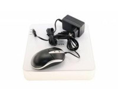 OBS DVR IP recorder voor 4 analoge beveiligingscamera's
