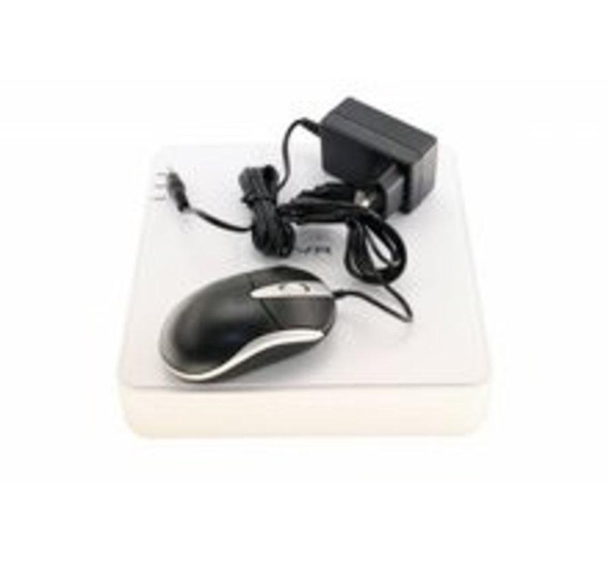 DVR IP recorder voor 4 analoge beveiligingscamera's