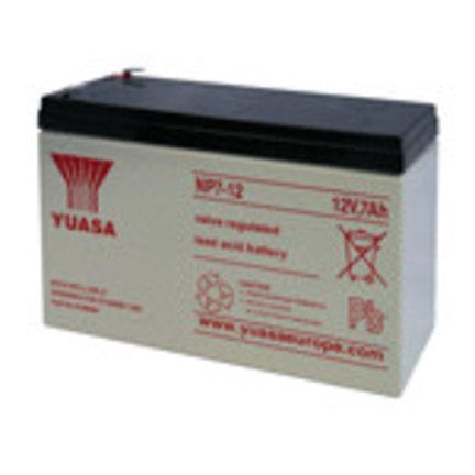 Accu en batterijen voor alarmsystemen en of alarminstallaties
