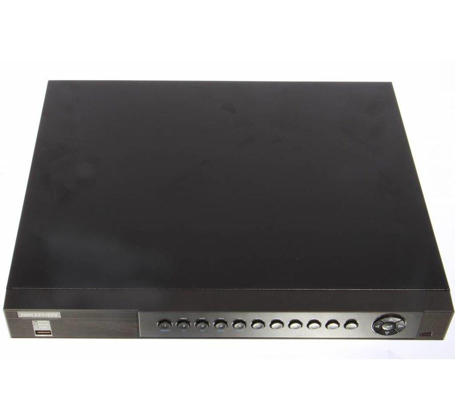 Hikvision Tribrid HD recorder DS-7216HUHI-F2/S tot 5MP opname