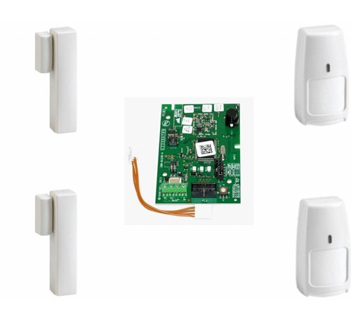 Honeywell draadloos Galaxy RF Starter kit 02-B 2x IRPI8M en 2x DO8M voor de Galaxy Flex