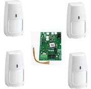 Honeywell draadloos Galaxy RF Starter-kit print 2C 4x PIR IRPI8M