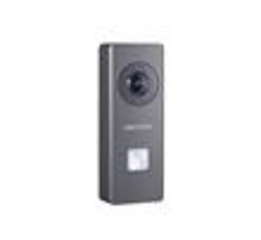 HIKVISION DS-KB6003-WIP HikVision Buiten deurstation video intercom ,WiFi, met 1 beldrukknop, opbouw