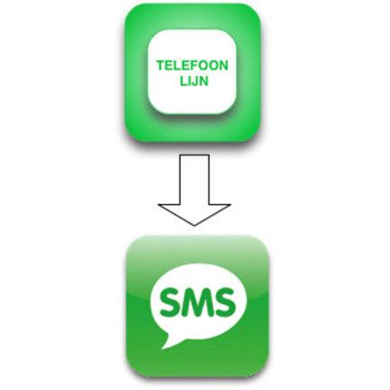 SMSanaloog abonnement per 12 maanden voor u Galaxy alarmsysteem