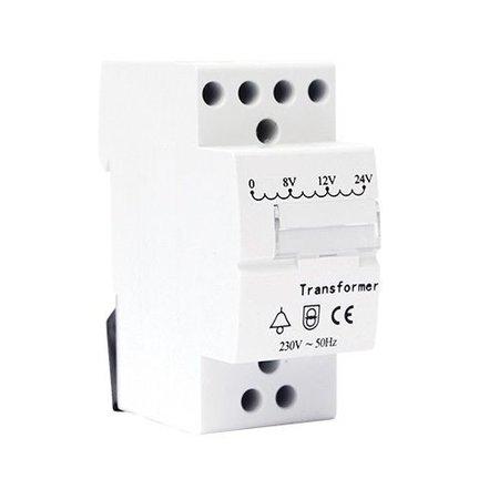 Beltrafo 24Volt AC voor de Hikvision DS-KB6003-WIP Buiten deurstation video intercom