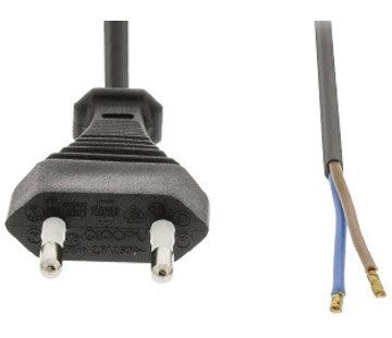 OBS 230V stekker met snoer lengte circa 2 meter
