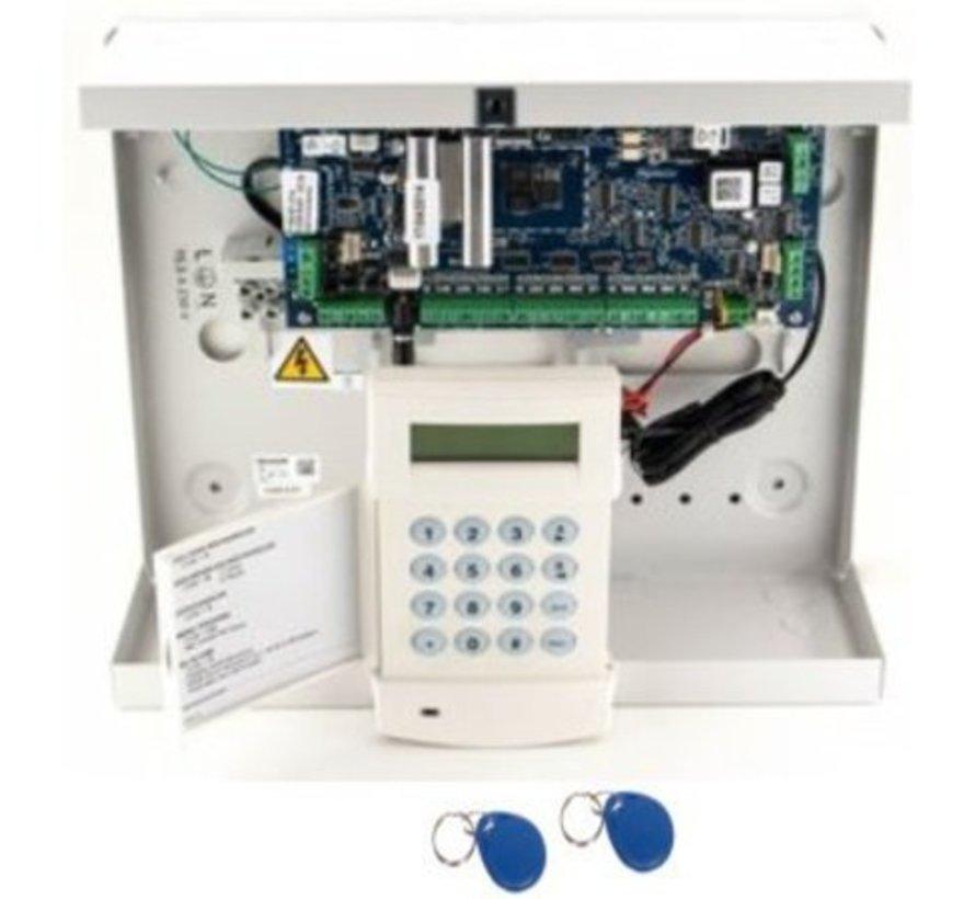 Galaxy Flex3-50 SK met MK7 prox alarmcentrale in stalenkast