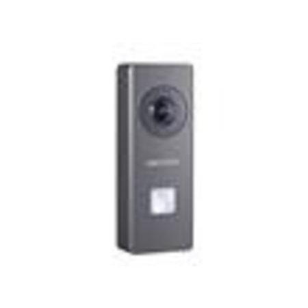 Hikvision HIKVISION DS-KB6403-WIP  videointercom Buiten deurstation video intercom ,WiFi, met 1 beldrukknop, opbouw