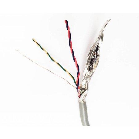 AlarmKabel Bus kabel per meter 2x2x0,5mm getwist afgeschermd massief