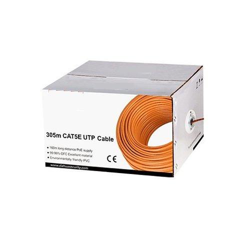Dahua UTP kabel Cat 5E koper kleur oranje 305 meter