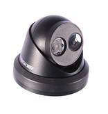 Hikvision Hikvision DS-2CD2335FWD-I 3MP ZWART Turret Network Camera 2,8mm