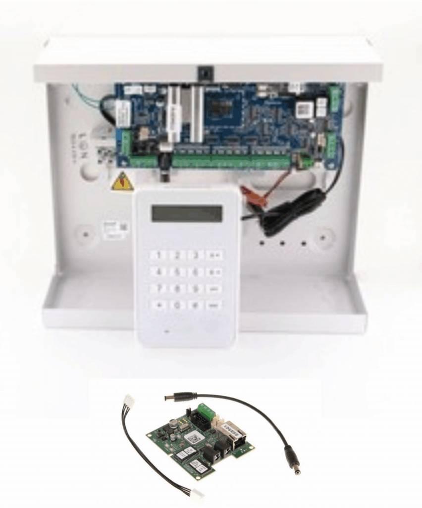 Honeywell Galaxy Galaxy Flex3-20 SK met MK8 bedienpaneel en IP module