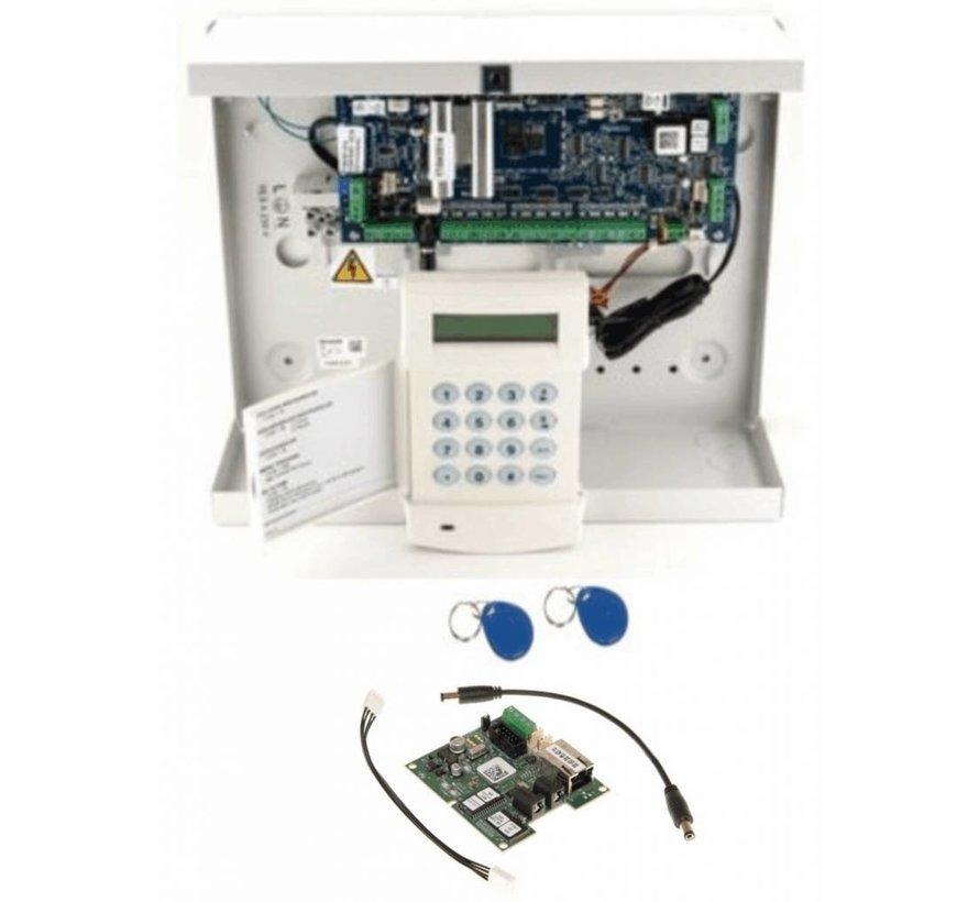 Alarmsysteem Galaxy Flex3-50 SK met MK7 prox bedienpaneel en IP module A083