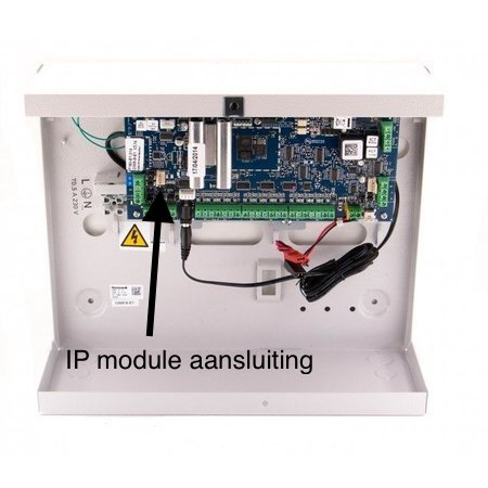 Galaxy Flex3 IP module aanlsuiten