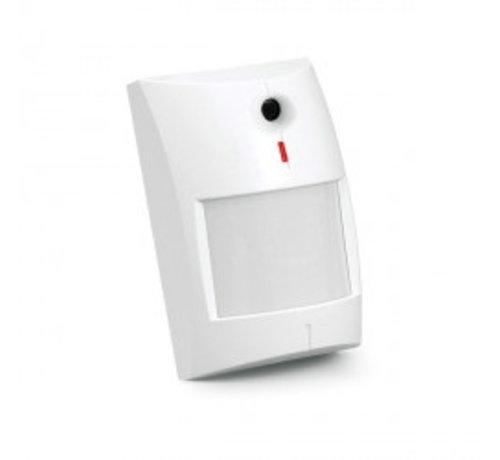 Satel Dual technologie PIR 12x6,5m + glasbreuk detector tot 6mDual melder PIR combinatie met glasbreuk