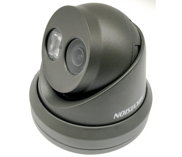 Hikvision Hikvision DS-2CD2335FWD-I 3MP Antraciet Grijs Turret Network Camera 2,8mm