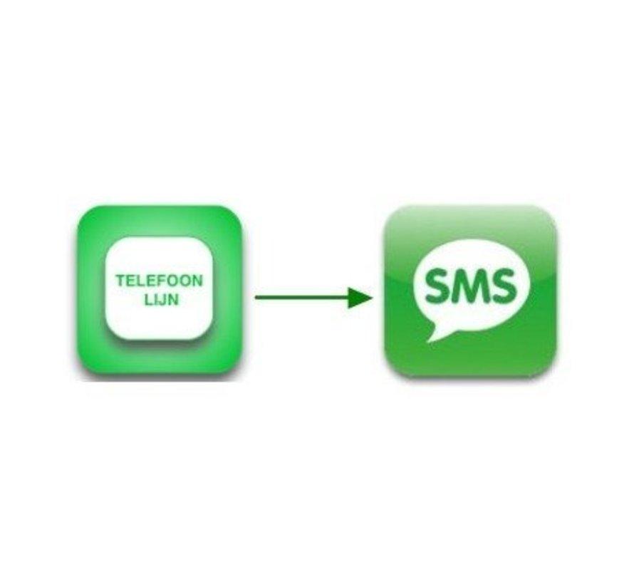 SMSanaloog prepaid bundel 500 voor 1 jaar tot maximaal 3 jaar.