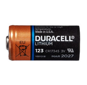 Duracell 123 Lithium batterij