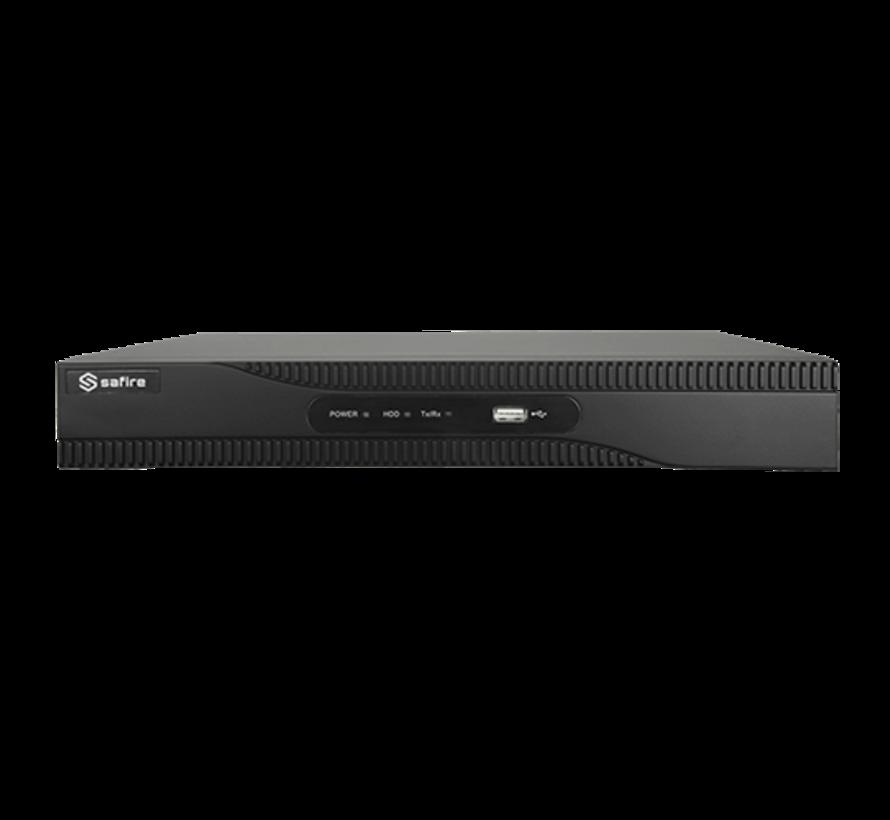 Safire SF-HTVR6108AH-4AI HD 8 kanalen HDTVI, CVI, AHD, CVBS en 4IP beveiligingscameras