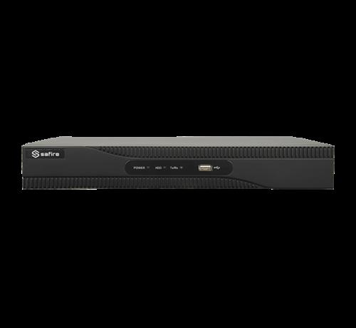 Safire Safire SF-HTVR8108AH-4AI 8 kanalen HDTVI, CVI, AHD, CVBS en 8IP beveiligingscameras