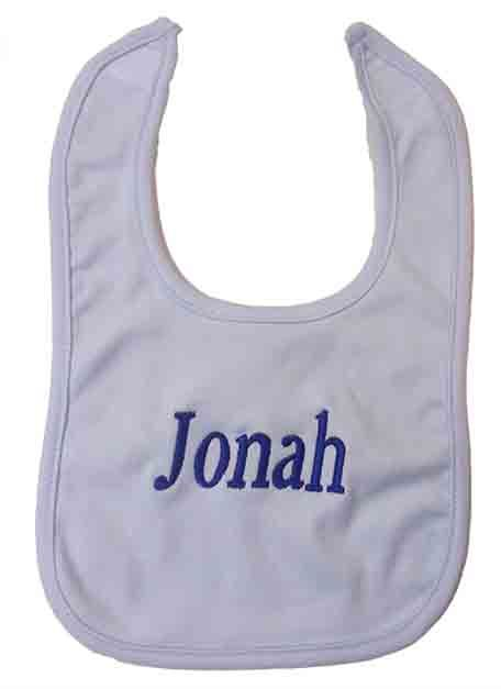 Baby Boy Blue Bib-1