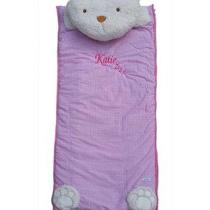 Pink Childrens Sleeping Bag
